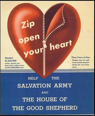 1st Capital Campaign with Salvation Army