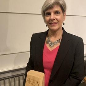 Angela Aufdemberge, CEO of Vista Maria