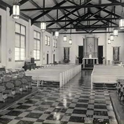First Chapel - Now Gym