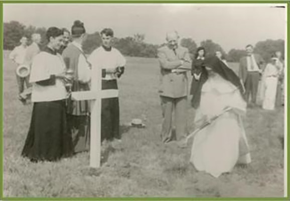 Ground Breaking with Sister Denis