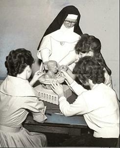 Art Class - Making a JFK Bust